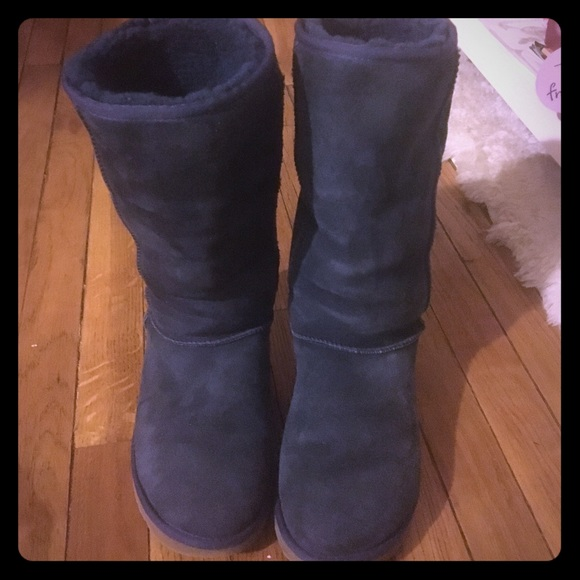4d6519513f3 Authentic Women's navy blue tall ugg boots used
